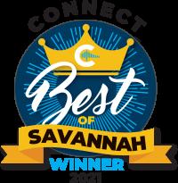 best of savannah winner 2021 logo